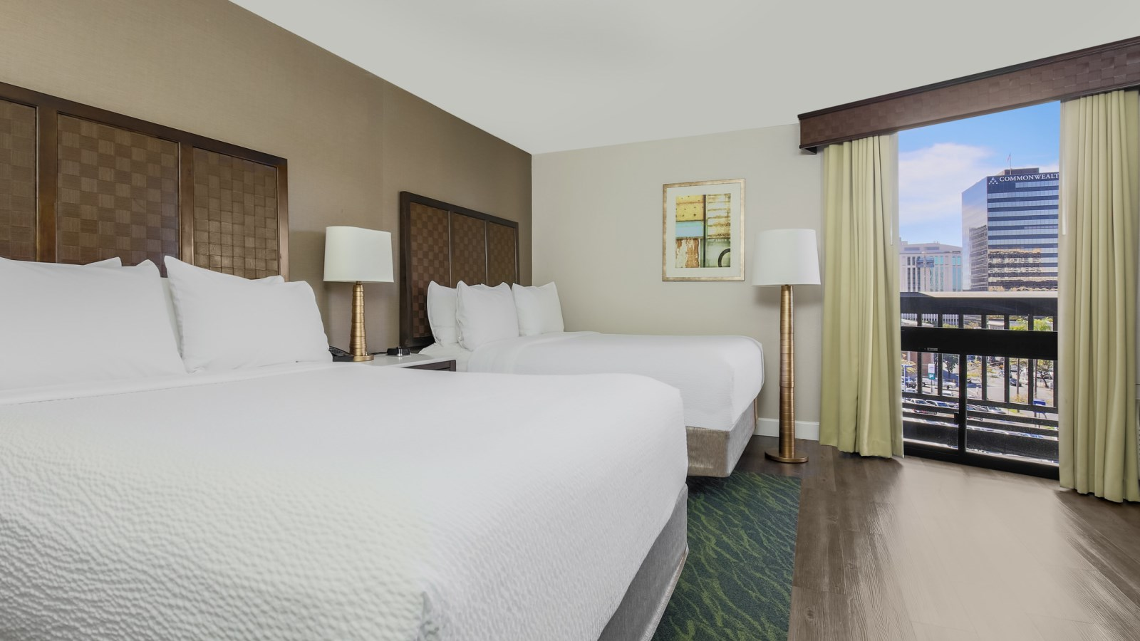 Double Queen Guest Room - Four Points by Sheraton San Diego Downtown